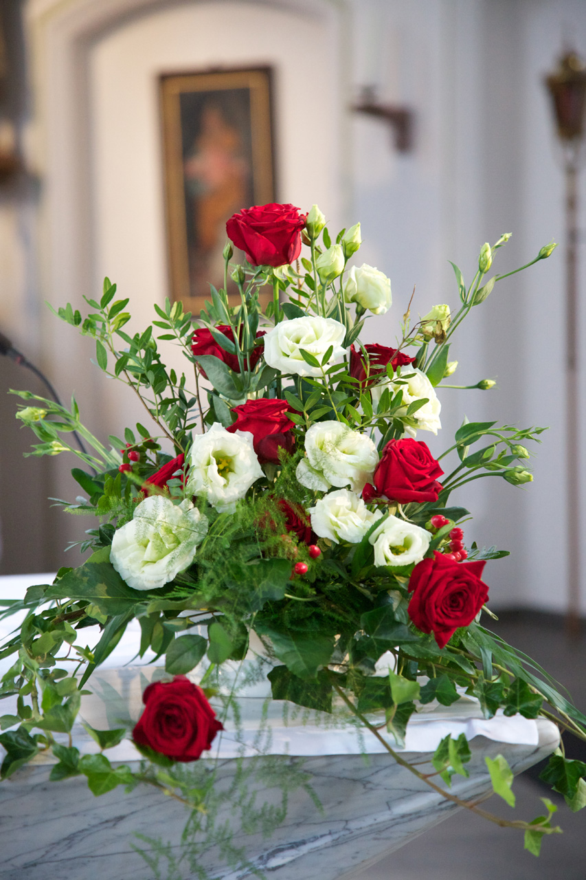 Hochzeitsfloristik von Blumen Holler, Freilassing